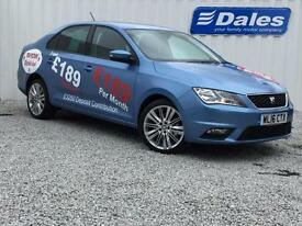Seat Toledo 1.2 TSI 110 Style Advanced 5dr (blue) 2016