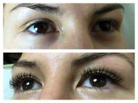Eyelashes , volume , 3D, 6D