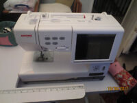 Janome sewing/embroidery machine for sale.