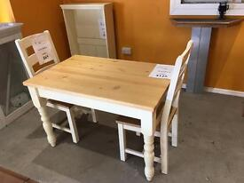 Brand New Cotswold Company Dining Table in Painted Oak