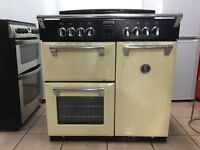 Stoves Richmond 900E electric cooker induction hob 90cm 3 months warranty free local delivery!!!!!
