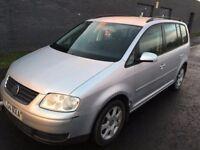 VW Volkswagen Touran Se Tdi Silver Diesel 5 Doors 7 Seater Family Prams Car Alloy Rim Clutch Changed