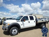 2013 Ford Super Duty F-450 DRW XLT Crew Cab 9' Flat Deck Truck