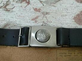 Official Scout Association waist belt
