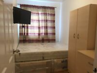 GOOD SIZE SINGLE ROOM WITH DOUBLE BED AND TV £120 pw (bills inc)
