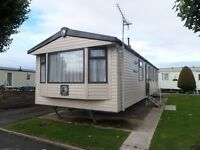 Pre Owned 2013 Swift Burgundy 35ftx12ft 3 Bedroom Static Caravan Holiday Home at Sun Valley Rhuddlan