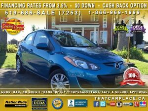 2011 Mazda MAZDA2 GX-$49/Wk-Hatch-AUX/USB/CD/Mp3-LowKm's-GreatPr