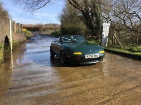 Slightly modified mx5 mk1 for sale