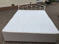 King size bed needs mattress