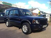 Land Rover Discovery 2.5 Td5 GS 7 seat 5dr Auto (blue) 2002