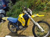 road legal 125 cc motocross, on the road with keys, chain, lock and v5, very fun bike cash or swaps