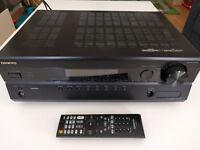 Onkyo HT-R380 AV receiver + 5.1 sound system + remote control