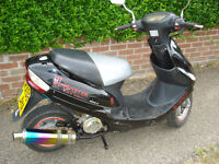 direct bikes moped/scooter 2010 years mot low mileage