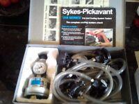 Sykes Pickavant 318 Series Cap Cooling System Tester(Complete Set)