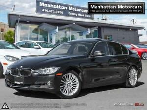 2013 BMW 328i X-DRIVE EXECUTIVE |NAV|PARK.A|ROOF|1OWNER|76,000KM