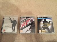 PS3 007 James Bond Quantum of Solace - Blood Stone - Goldeneye 007 Reloaded