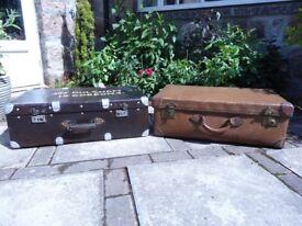 Vintage Parisian Suitcase