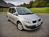 2007 RENAULT SCENIC...2 OWNERS...LOW MILEAGE...FSH...TOP RANGE...FULL YEAR MOT