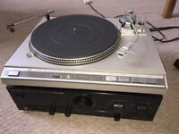 JVC L-F66 Direct Drive Turntable and Kenwood KA-3020SE Integrated Amplifier
