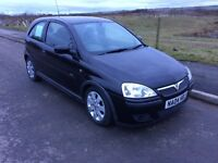 L@@K! Vauxhall Corsa 1.2 SXI, Black, MOT, ideal 1st car, low insurance