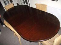 Large Mahogany dining table