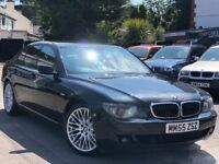 BMW 7 Series 3.0 730d Sport Full Service History Sat/Nav Cream Leather + Warranty