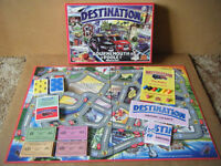 (DESTINATION BOURNEMOUTH & POOLE), Taxi Driver board game. Complete in excellent condition.