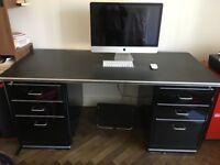 Classic Line Black Chrysler Desk bought at the Conran Shop