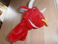 """The """" RED BULL """" """"Novelty Golf Head Cover"""