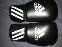 Adidas pro speed gloves.