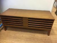 Mid century record player/radio/coffee table