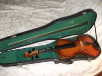 4/4 Chinese violin with case