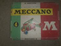 Meccano vintage from fifties two sets boxed