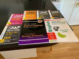 GCSE AQA English books