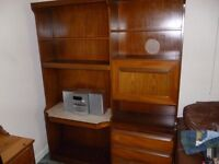 1970s Large Wooden cabinet