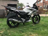 Honda cbf 125 with mot