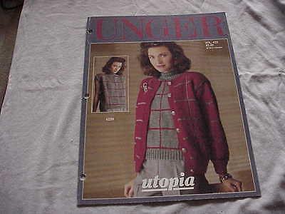 Винтажные Vintage 1988 Unger Knitted Sweater