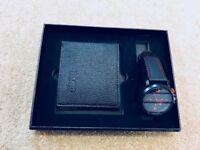 Wallet & watch gift set
