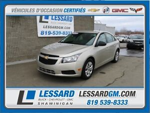 2013 Chevrolet CRUZE LS LS,CLIMATISATION , ENTREE AUXILIARE , ON