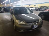 2005 Honda Civic SE * 2 YEARS WARRANTY *