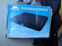 camping / caravan /awning / double air bed boxed