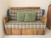 Hand made pallet sofa