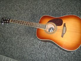 Lovely Vintage (make) Acoustic Guitar with Soundhole Pickup £90 NO OFFERS!