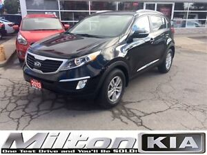 2013 Kia Sportage LX - INCLUDES SNOW TIRES