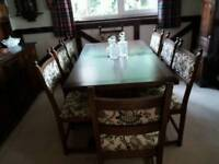 Old Charm Dining Table & Chairs