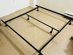 Mattress and metal bed frame