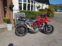 Ducati hypermotard 1100 s. V quick + reliable. Lovely condition. Mot oct. New tyres. £4950 ono.