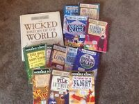 13 books horrible science, horrible history and horrible geography