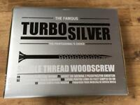 Turbo silver screws