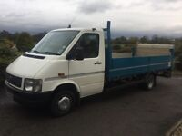Volkswagen lt 46 2.5 tdi drop side lorry with tail lift